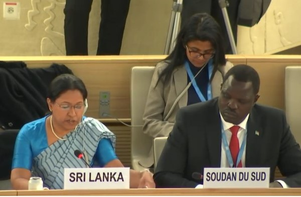 Sri Lanka says committed to achieve reconciliation through domestic process