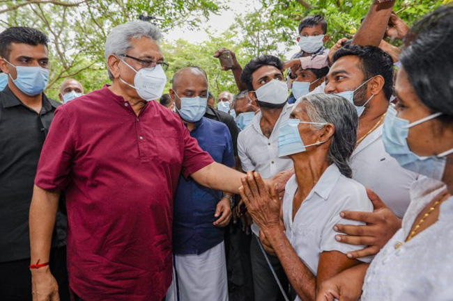 Agriculture will be country's priority, President says in Anuradhapura