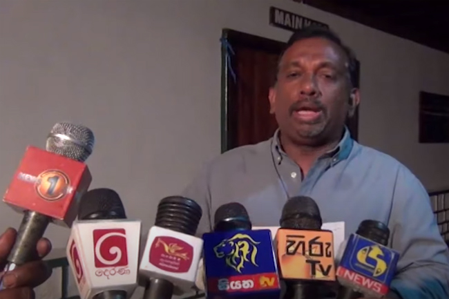 Mahindananda on Sports Ministry's SIU dropping match-fixing probes