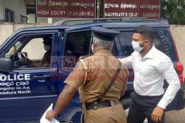 Kusal Mendis produced at court