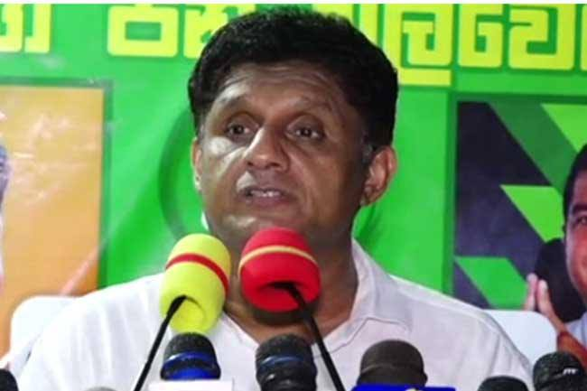 Sajith promises loans with  4% interest for all