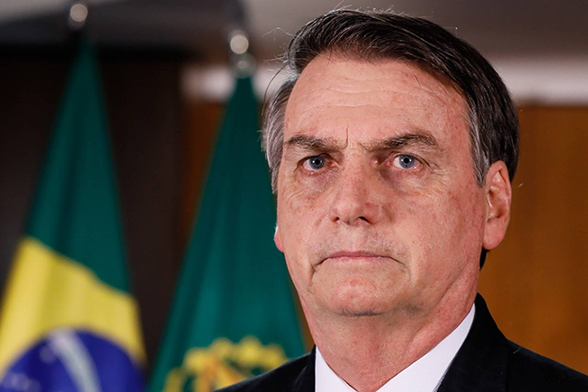 Brazil's President tests positive for COVID-19