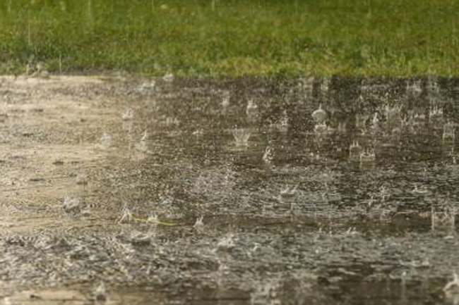 Fairly heavy rainfall possible in parts of the island