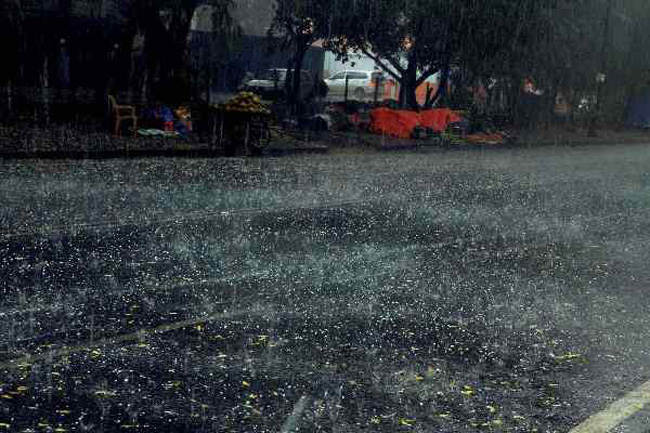 Spells of showers expected in some areas