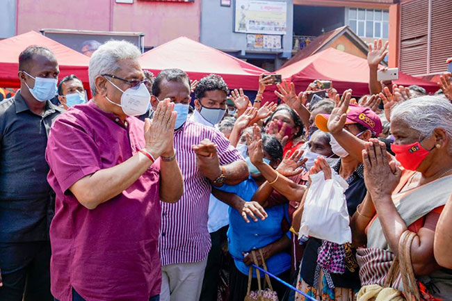 President joins SLPP election campaign in Kandy