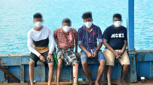 Ex-LTTE cadre caught in illegal migration attempt, hospitalized over COVID-19 symptoms