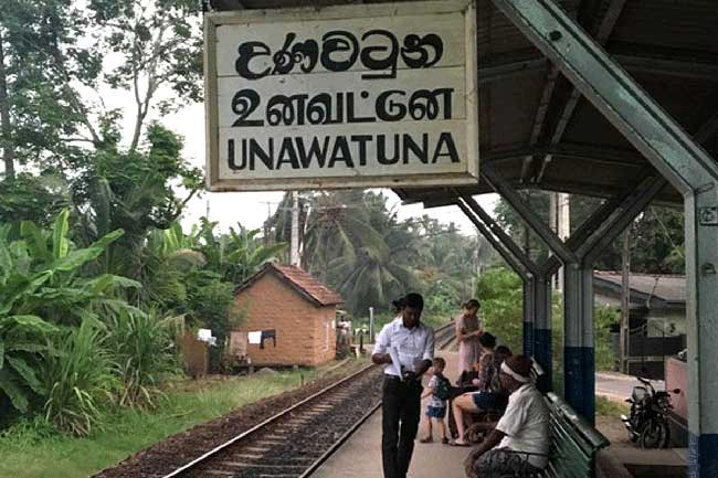 Unawatuna Sub Railway Station closed over COVID-19 scare