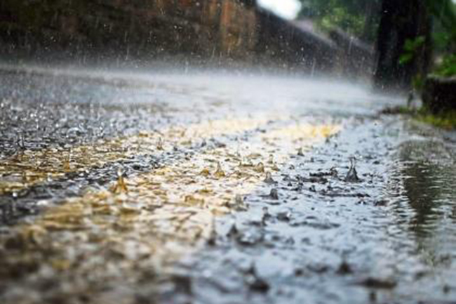 Fairly heavy rainfall possible in some areas