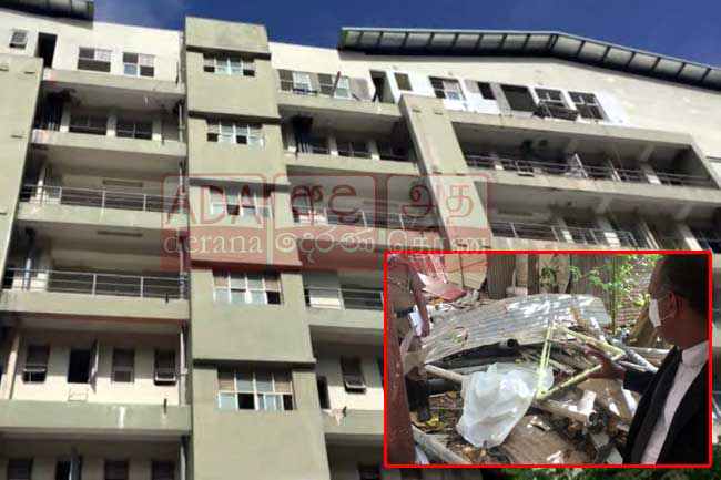 Prison inmate dies after falling over Negombo Hospital building