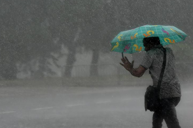 Showers expected to enhance in south-western areas