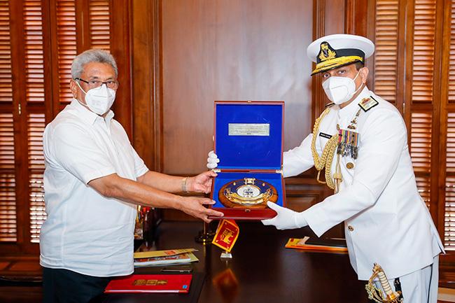 New Navy Commander calls on President