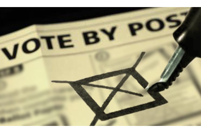 Special date for people under quarantine to mark postal vote