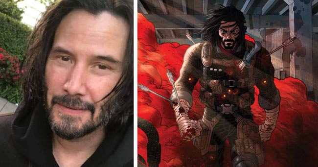 Keanu Reeves to debut as comic-book writer; first issue out in October