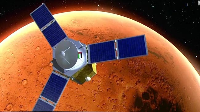 UAE successfully launches Arab world's first Mars mission