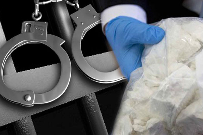 Six linked to drug network arrested with heroin & cash