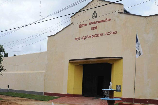 Remanded Negombo Jailor to be held at Boossa Prison