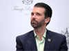 Donald Trump Jr suspended from tweeting over Covid-19 post