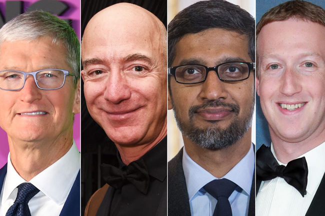 Big Tech Hearing: Facebook, Amazon, Google and Apple CEOs grilled over market dominance