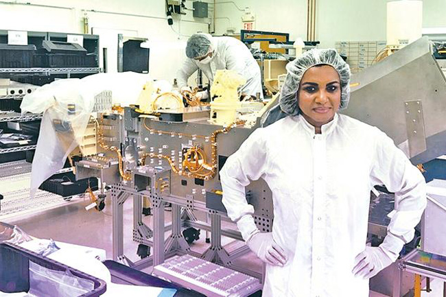 Sri Lankan-born Mars 2020 engineer who designed NASA rover's internal electrical layout