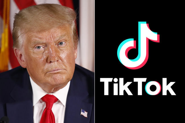 TikTok: Trump says he will ban Chinese video app in the US