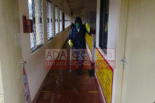 Polling stations disinfected before election