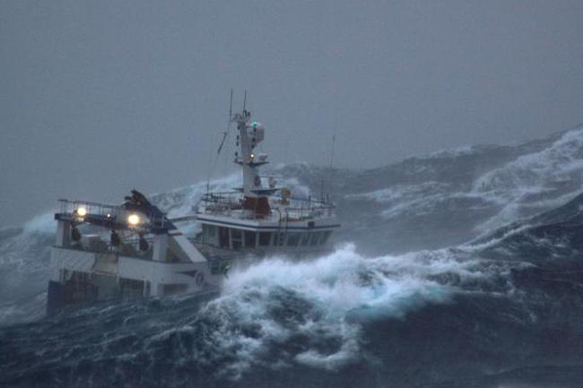 Naval, fishing communities warned of rough seas