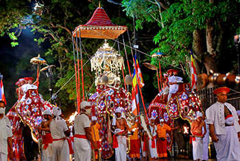 Kandy Esala Perahera paraded with grandeur…