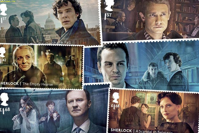 Special Sherlock stamps with hidden details to be issued by UK Royal Mail