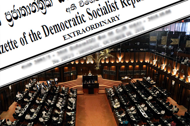 Names of freshly elected MPs gazetted