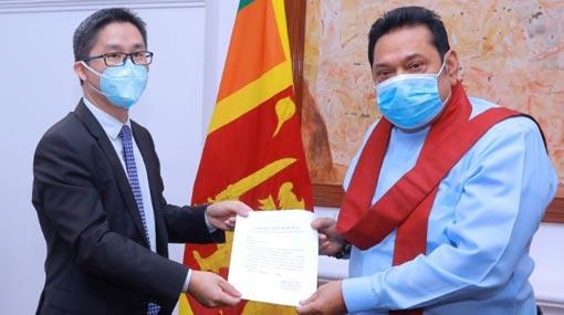 China congratulates Mahinda on election win