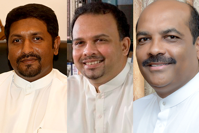 Three more nominees for UNP's leadership