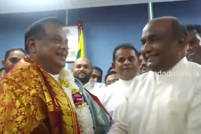 C.B. Ratnayake's hint about new Speaker of Parliament