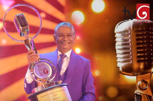 W. I. Nuwan Perera wins Derana 60 Plus Season 3