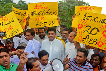 SJB protest against 20A...