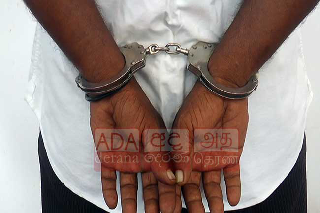 Criminal gang member arrested in Maligawatte