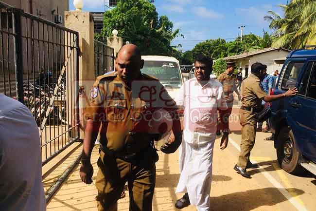 M.K. Shivajilingam released on bail