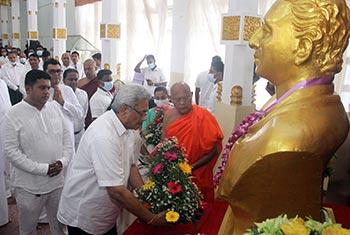 Celebrating Srimath Anagarika Dharmapala...