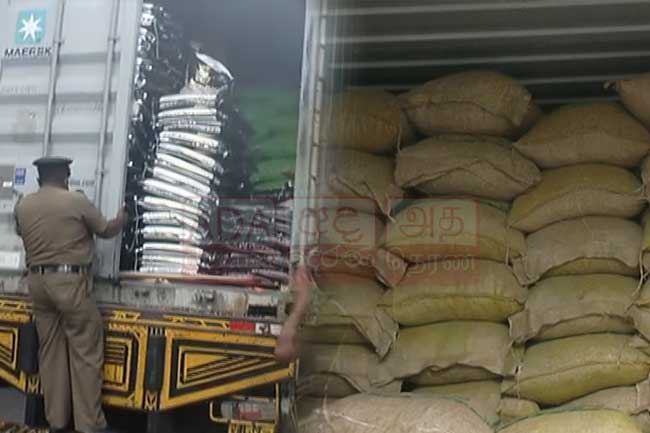 33,000 kg of turmeric illegally removed from customs seized; 10 suspects arrested