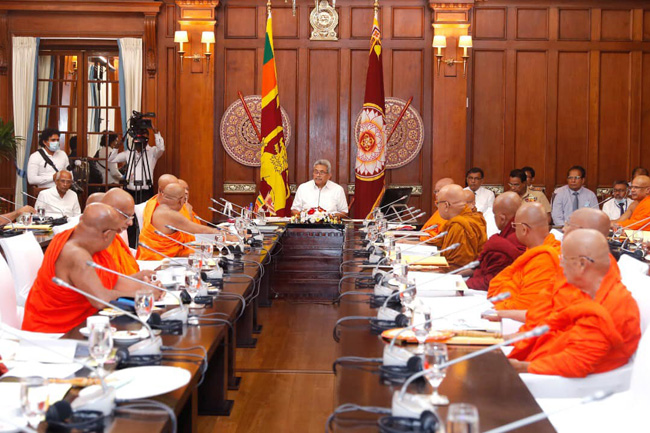 Buddhist Advisory Council commends President for heeding advice