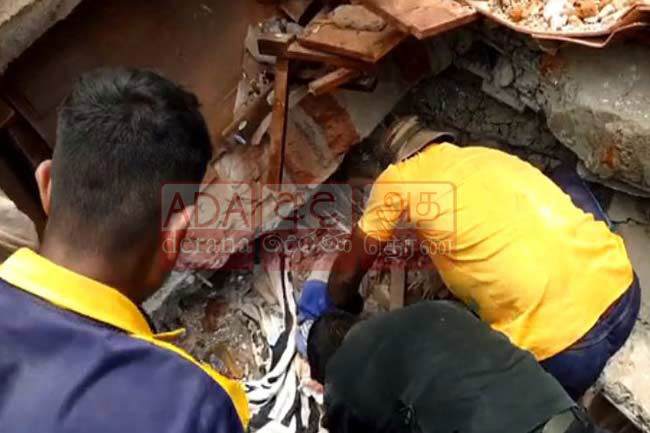 Bodies of duo missing in Buwelikada collapsed building incident recovered