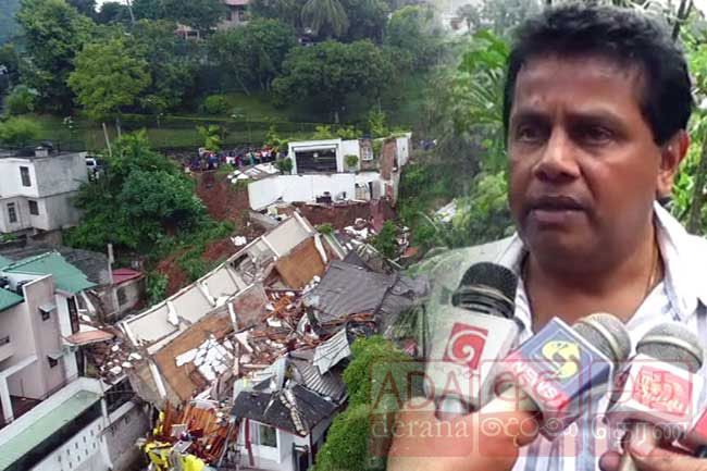 Owner of collapsed building in Kandy speaks on incident