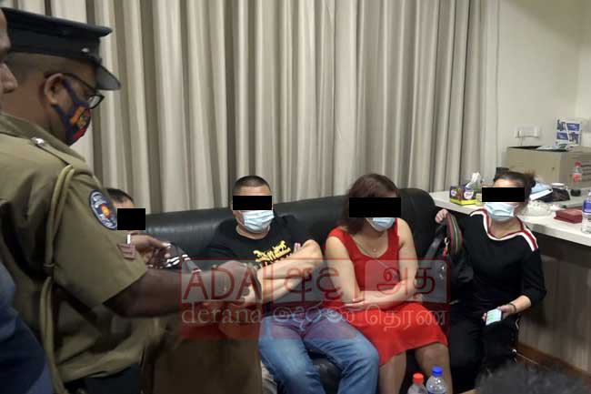 Dozen Chinese nationals arrested in illegal gambling bust; Rs. 6.5M seized