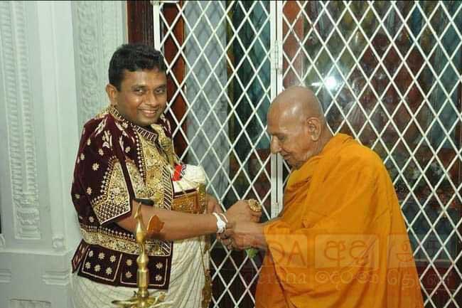 Dishan Gunasekara elected new Ruhunu Kataragama Basnayake Nilame