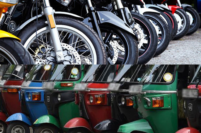 Police releases info on stolen motorcycles, three-wheelers in Western Province