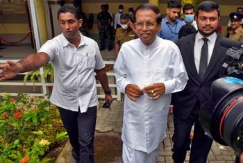 Maithripala at PCoI on Easter attacks…