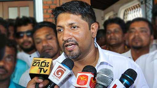 Ruwan arrives at PCoI on political victimization
