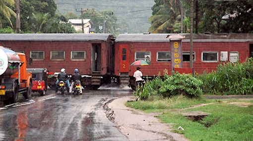 Trains on coastal line delayed
