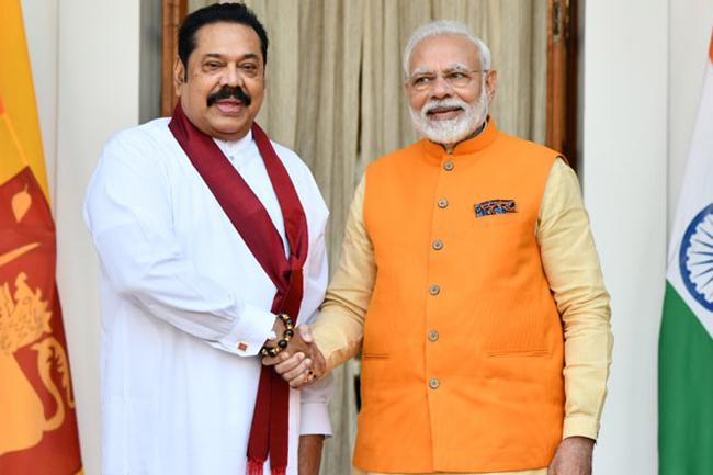 Modi looking forward to reviewing bilateral ties with Sri Lanka