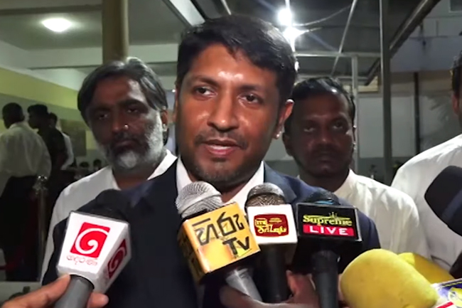 Ruwan claims abdication of responsibility on the part of ex-President