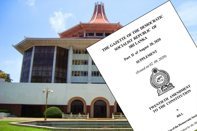 Five-member SC judge bench to consider petitions against 20A